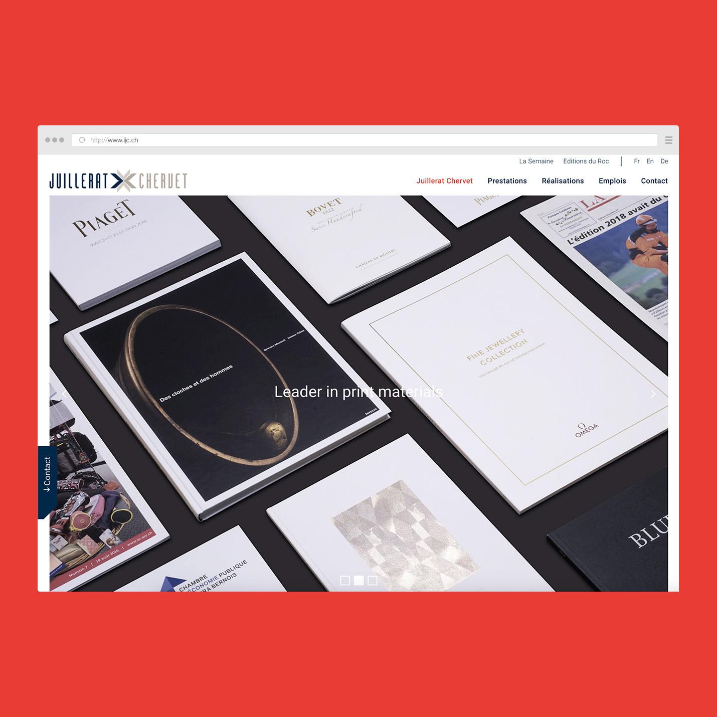 Juillerat & Chervet - Benjamin Floch - concepteur multimédia - La Chaux-de-Fonds